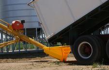 Grain Hopper & Shovels