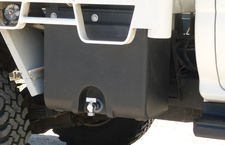 Truck water tanks
