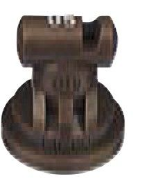 Turbo TeeJet Angle Flat Spray Tips Pack 10 Brown