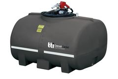TTi DieselCadet 1000L with 60L/min Pump, Ball Baffle System