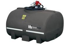 TTi DieselCadet 1000L 60L/min Pump | Free-Standing Diesel Tank; 15-Year Warranty