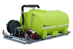 "TTi AquaPath 2400L Slip-on Water Cart with Honda 6.5HP and 1 1/2"" Davey Pum"