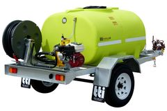 TTi FirePatrol14 1000L Braked Water Cart Trailer Registerable