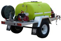 TTi FirePatrol15 1000L | Deluxe Fire Fighting Trailers (Braked)