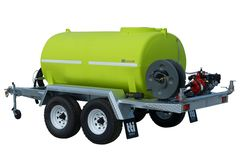 TTi FirePatrol15 3000L | Deluxe Fire Fighting Trailers (UnBraked - Dual Axle)
