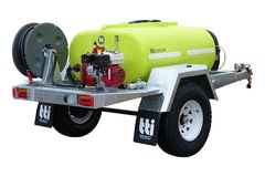 TTi FirePatrol15 800L Braked Trailer Registerable