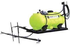 TTi WeedControl 150L with 8.3L/min Pump | 12v Spot Sprayers (4m Boom)