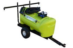 TTi WeedControl 55L Trailer Sprayer with 8.3L/min pump and 2m Boom