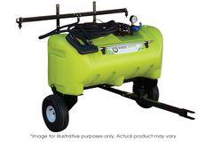 TTi WeedControl  55L Zero Turn Trailer Sprayer with 8.3 L/min pump 2m Boom