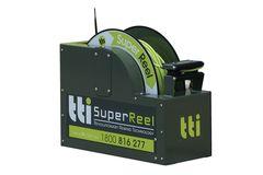 TTi Auto-Rewind SuperReel 100m with Spray Gun