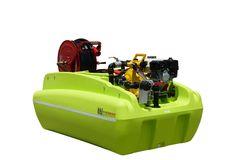 TTi FireDefence 600L Slip-on unit with Honda & Davey Pump