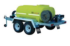 TTi FirePatrol15 3000L Braked Trailer Registerable