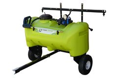 WeedControl 95L   Zero Turn Trailer Sprayer with 83Lmin Pump and 2m Boom