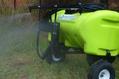 WeedControl 95L   Zero Turn Trailer Sprayer with 83Lmin Pump and 2m Boom